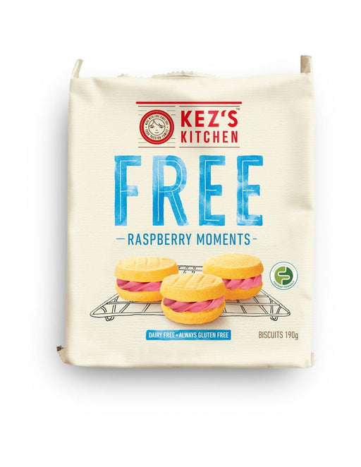 Kezs Kitchen Raspberry Moments Gluten Free 190G