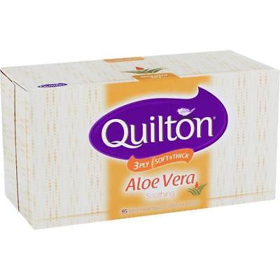 Quilton 3Ply 95S Three Ply Facial Tissue Aloe Vera