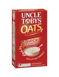 UNCLE TOBYS QUICK OATS 1KG