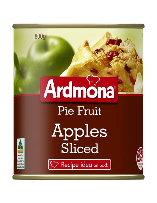 Ardmona Pie Apple Sliced 800G