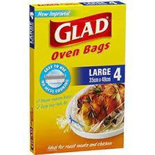 Glad Oven Bag Large 4Pk