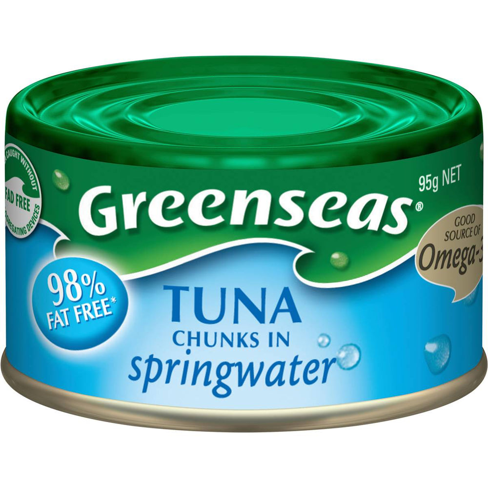 GREENSEAS TUNA IN SPRINGWATER 95GM
