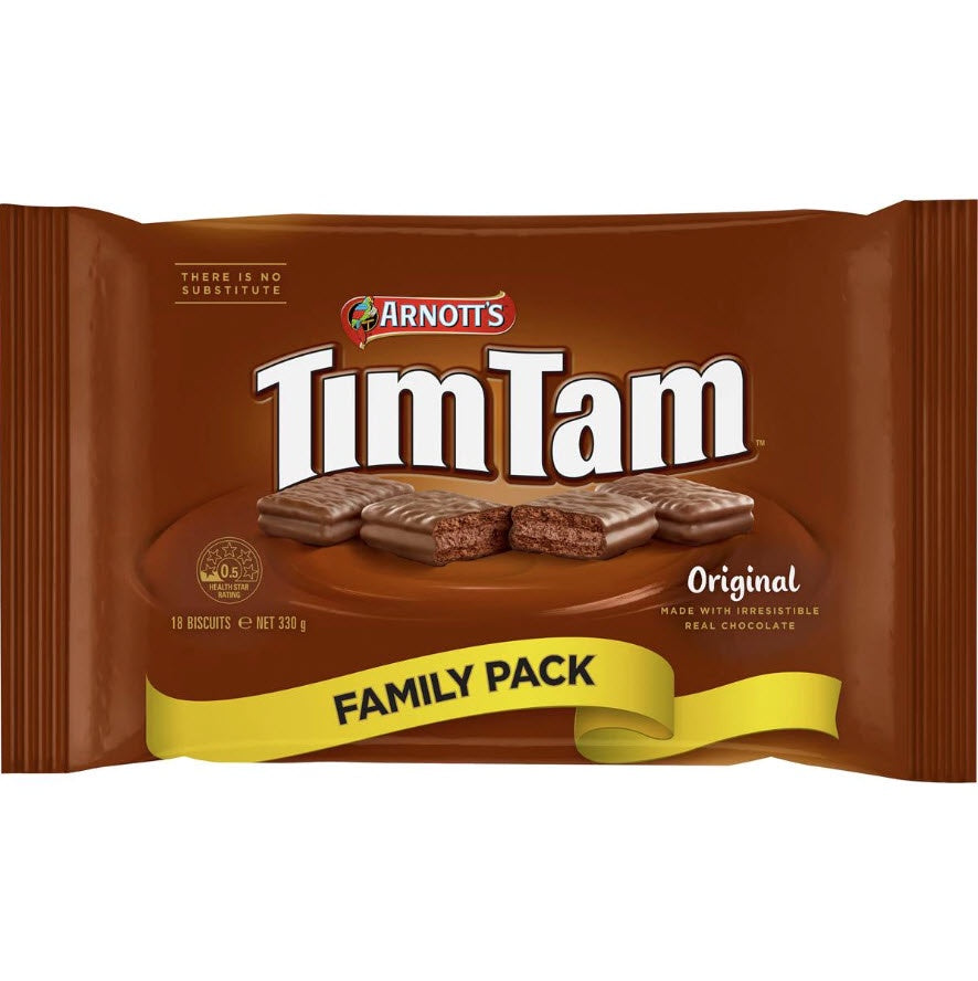 ARNOTTS TIM TAM ORIGINAL 330G