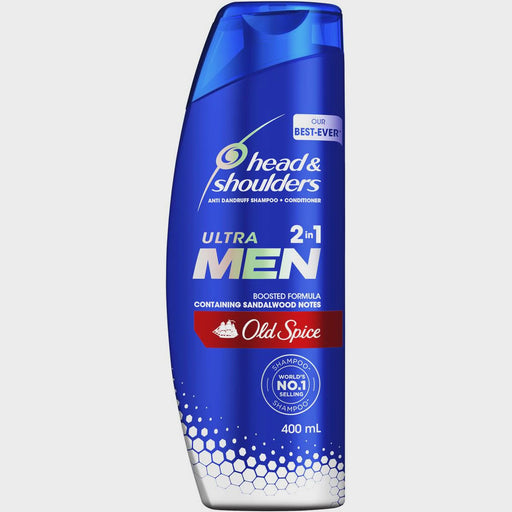HEAD & SHOULDERS ULTRA MEN SHAMPOO OLD SPICE 400ML