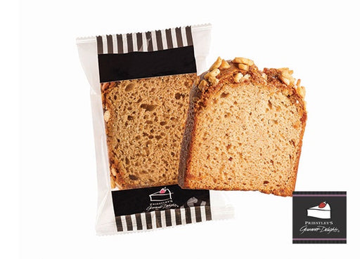 Priestley's Banana Bread Individually Wrapped Gluten Free 95G