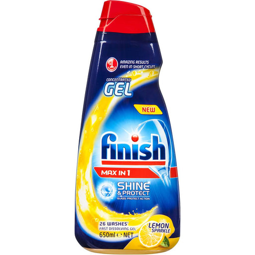 FINISH CONCENTRATE DISHWASHER GEL 650ML PHOSPHATE FREE