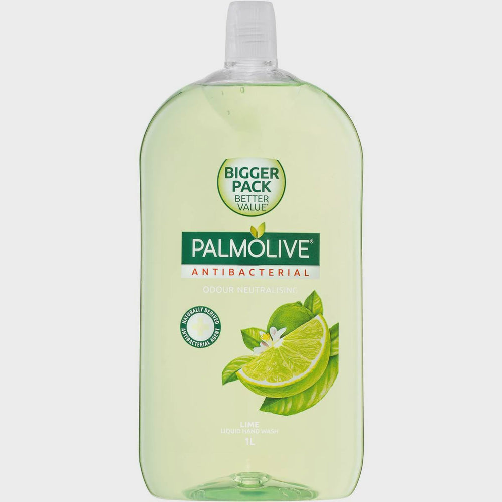 Palmolive Hand Wash Antibacterial Lime Refill 1L