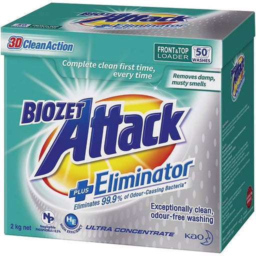 BIOZET ATTACK PLUS ELIMINATOR 2KG POWDER