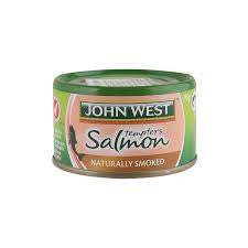 John West Salmon Tempters 95G Naturally Smoked