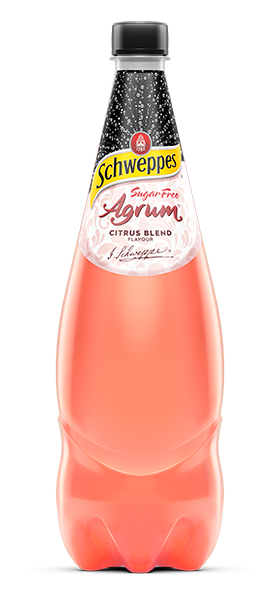 SCHWEPPES MINERAL WATER SOFT DRINK 1.1L AGRUM CITRUS SUGARFREE