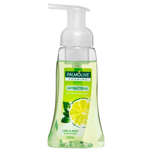Palmolive Hand Wash Foaming Antibacterial Lime And Mint 250Ml