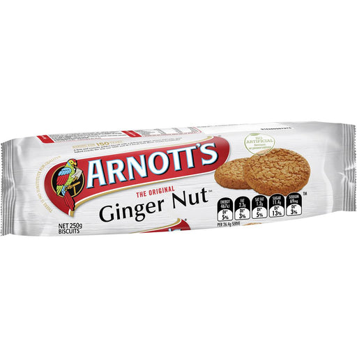 Arnotts Gingernut Biscuits 250G