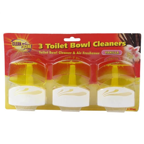 Clean Scene Toilet Bowl Cleaner 50Ml 3Pk