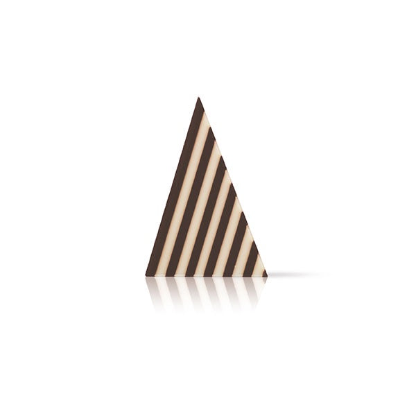 CHOCOLATE DECORATIONS - DOMINO TRIANGLES 20PK