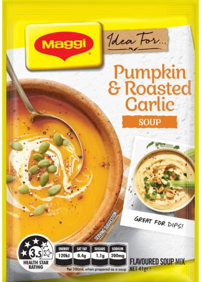 MAGGI PUMPKIN & ROAST GARLIC SOUP