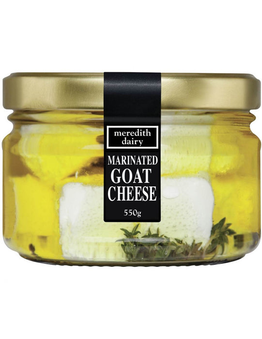 MEREDITH DAIRY MARINATED GOAT CHEESE 550G