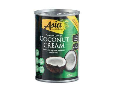 Asia Specialities Coconut Cream 400Ml