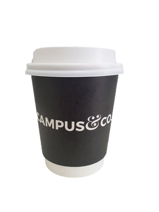 Campus&Co. 8Oz Disposable Coffee Cup - Chalk 25Pk