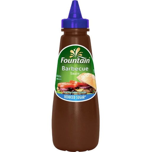 Fountain BBQ Sauce Squeeze GF 500Ml