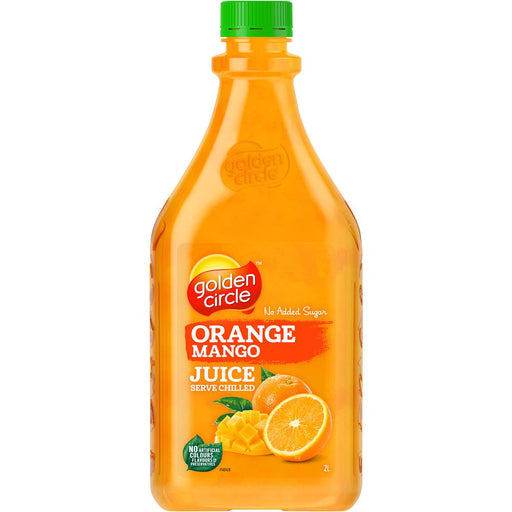 GOLDEN CIRCLE ORANGE MANGO JUICE 2L