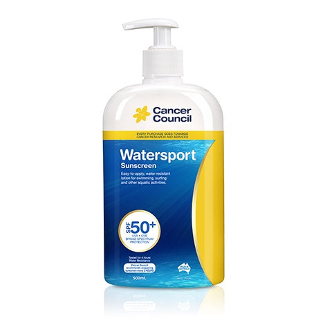 Cancer Council Watersport Sunscreen 50+ 500Ml