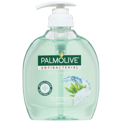 PALMOLIVE LIQUID HAND WASH PUMP ANTIBACTERIAL SEA MINERALS 250ML