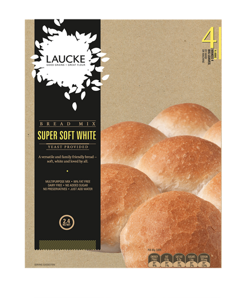 Laucke Super Soft White Bread Mix 2.4Kg