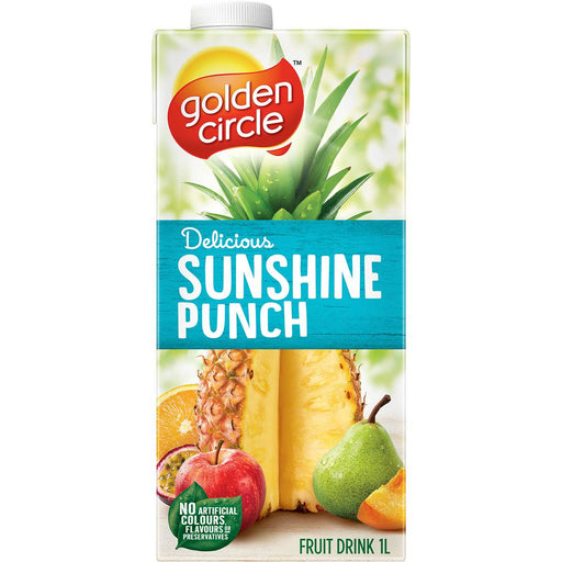 GOLDEN CIRCLE JUICE 1L SUNSHINE PUNCH