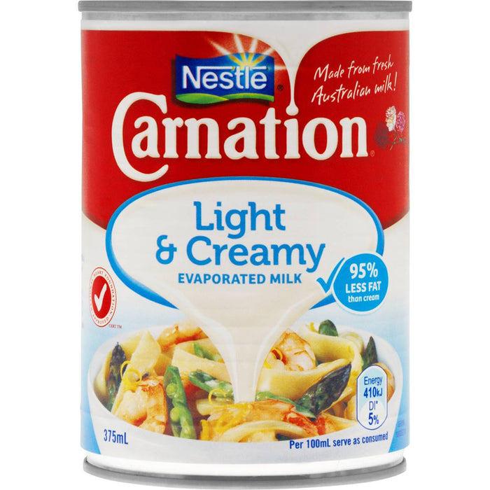 Carnation Evaporated Milk Lite 375Ml