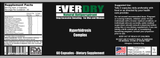 Ever Dry Natural Antiperspirant Supplement - Hyperhidrosis Treatment