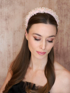 Alina Pearl Headband Headband - Alice and Blair