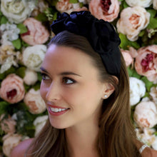 Load image into Gallery viewer, Arianna Silk Floral Headband Headband - Alice and Blair
