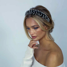 Load image into Gallery viewer, Audrey Pearl Headband Headband - Alice and Blair