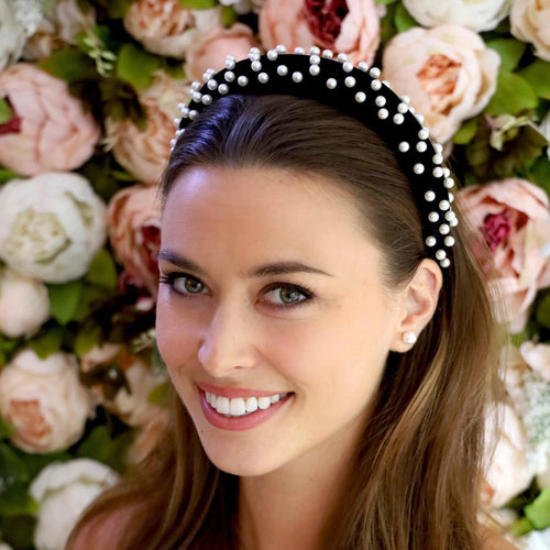 Audrey Pearl Headband Headband - Alice and Blair