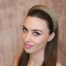 Load image into Gallery viewer, Cleo Silk Croissant Headband Headband - Alice and Blair