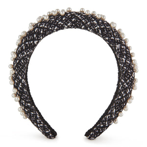 Coco Pearl Headband-Headband-[hair band]-Alice & Blair