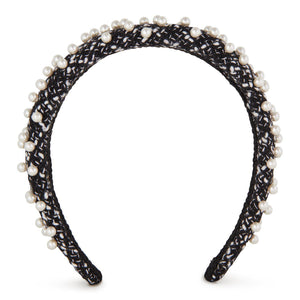Coco Pearl Headband-Headband-[hair band]-Slim-Alice & Blair