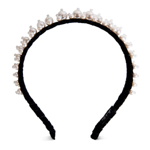 Elisa Pearl Double Headband-Headband-[hair band]-Alice & Blair
