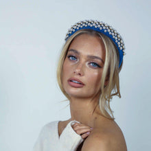 Load image into Gallery viewer, Floria Blue Headband Headband - Alice and Blair
