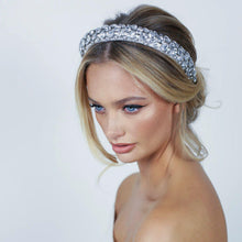 Load image into Gallery viewer, Georgia Crystal Headband - Alice & Blair