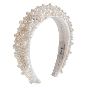Grace Pearl Headband Headband - Alice and Blair