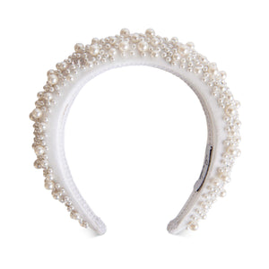 Grace Pearl Headband-Headband-[hair band]-Alice & Blair