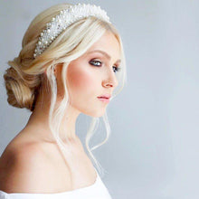 Load image into Gallery viewer, Grace Pearl Headband Headband - Alice and Blair