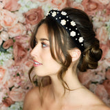 Greta Pearl Headband-Headband-[hair band]-Alice & Blair