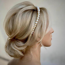 Load image into Gallery viewer, Luna Pearl Headband Headband - Alice and Blair