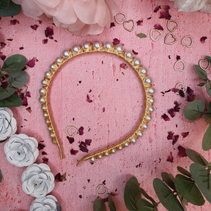 Luna Pearl Headband Headband - Alice and Blair