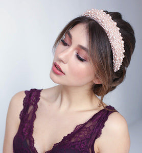 Penelope Pearl Headband-Headband-[hair band]-Alice & Blair