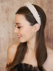 Penelope Pearl Headband Headband - Alice and Blair