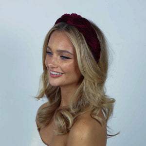 Sofia Velvet Headband-Headband-[hair band]-Alice & Blair