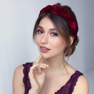 Sofia Velvet Headband Headband - Alice and Blair